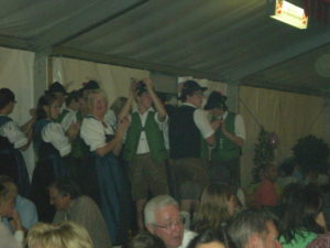 Photo of people at Oktoberfest