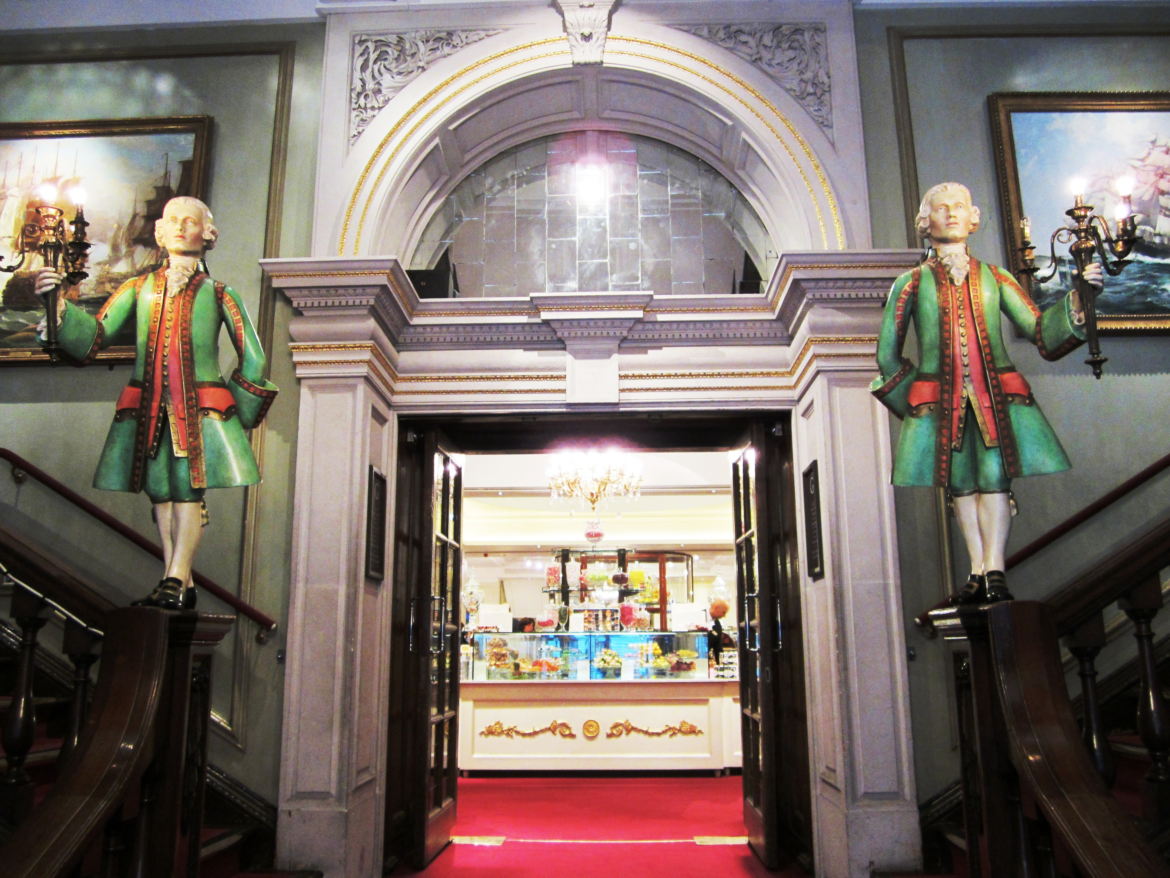 side entrance-fortnum & mason